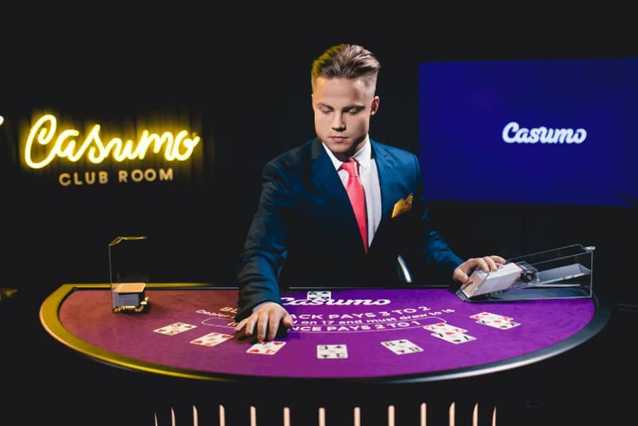 Casumo Casino live Blackjack